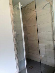 ls plumbing glass shower wall