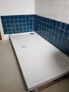 ls plumbing new shower installation