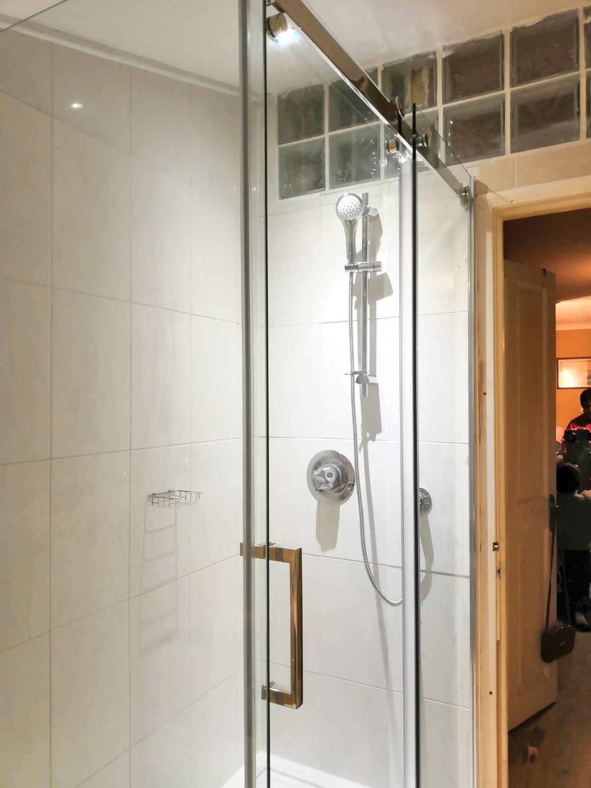 ls plumbing shower wall guard
